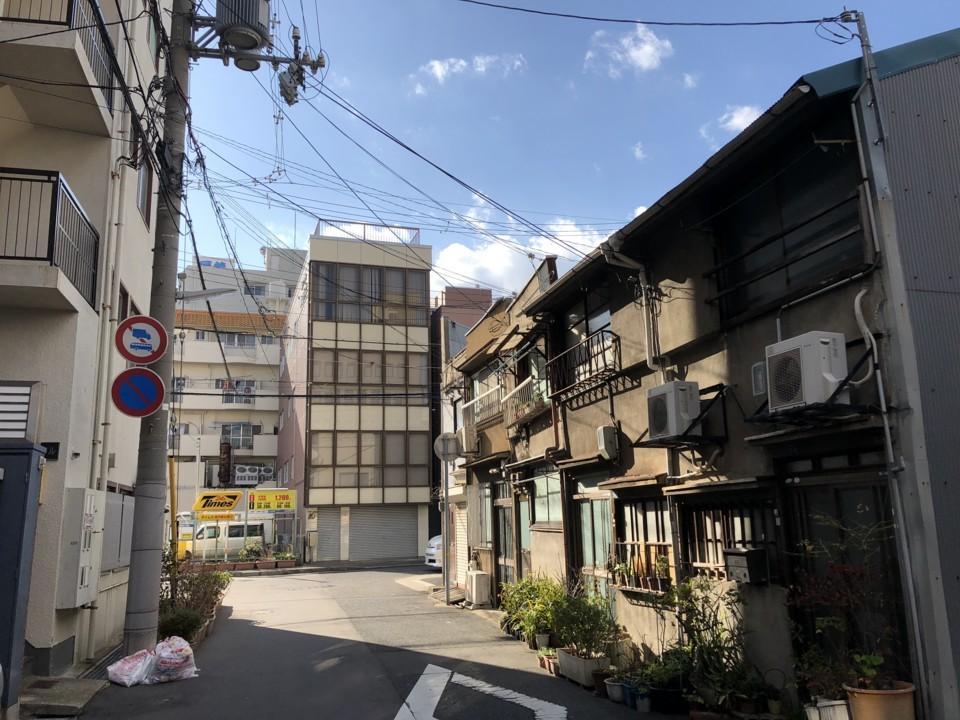 神戸の下町
