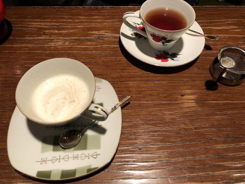 モトマチ喫茶でのひととき。ノンビリできるいいお店。