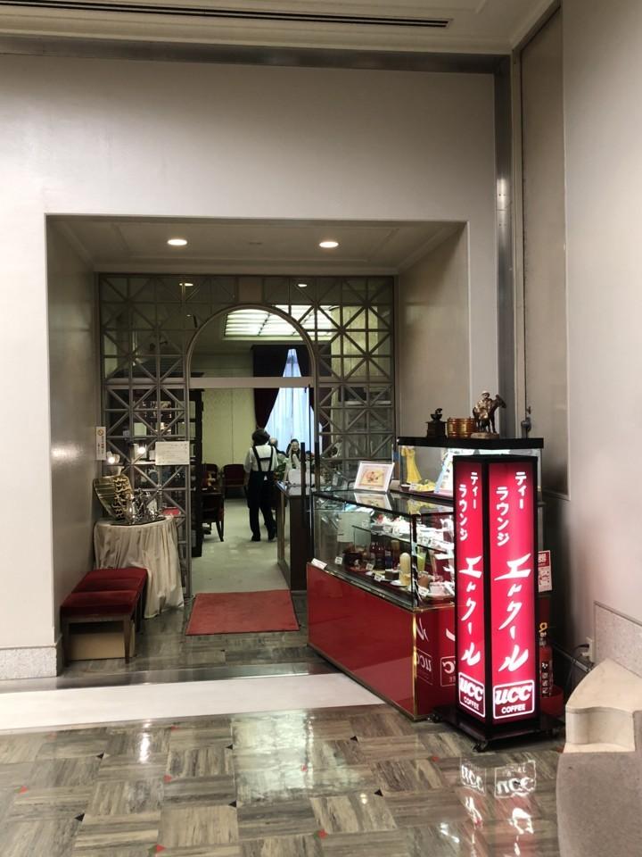 博物館の中の喫茶店
