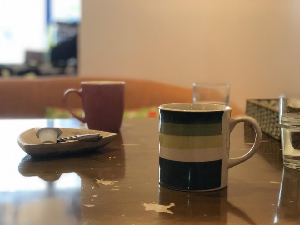飲みかけのコーヒー