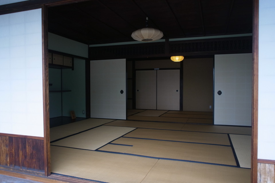 日本家屋の一間