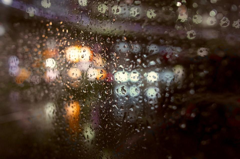 バスの窓から