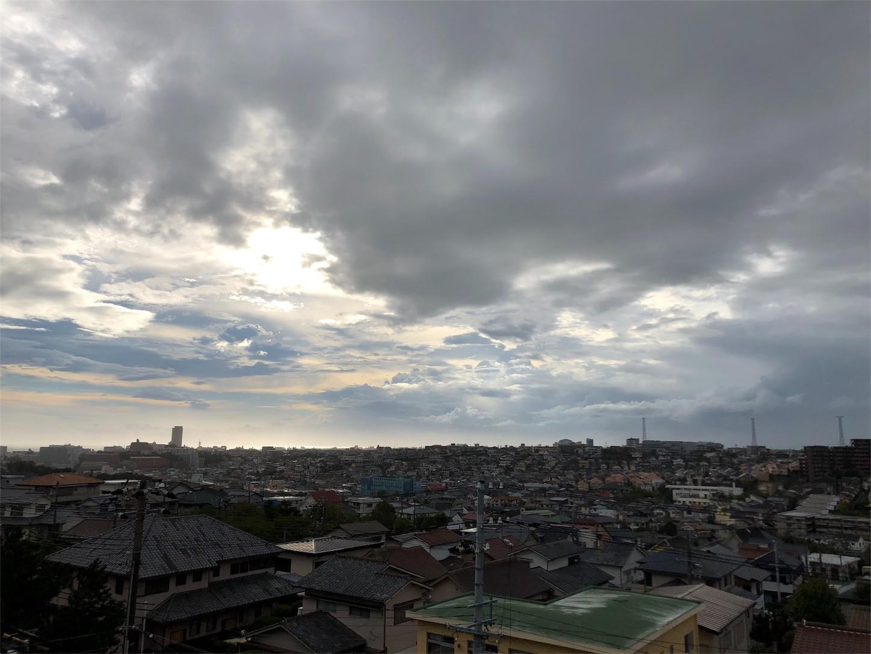 台風通過後の様子
