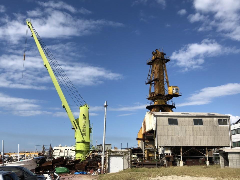 造船所(iPhone8 Plus)