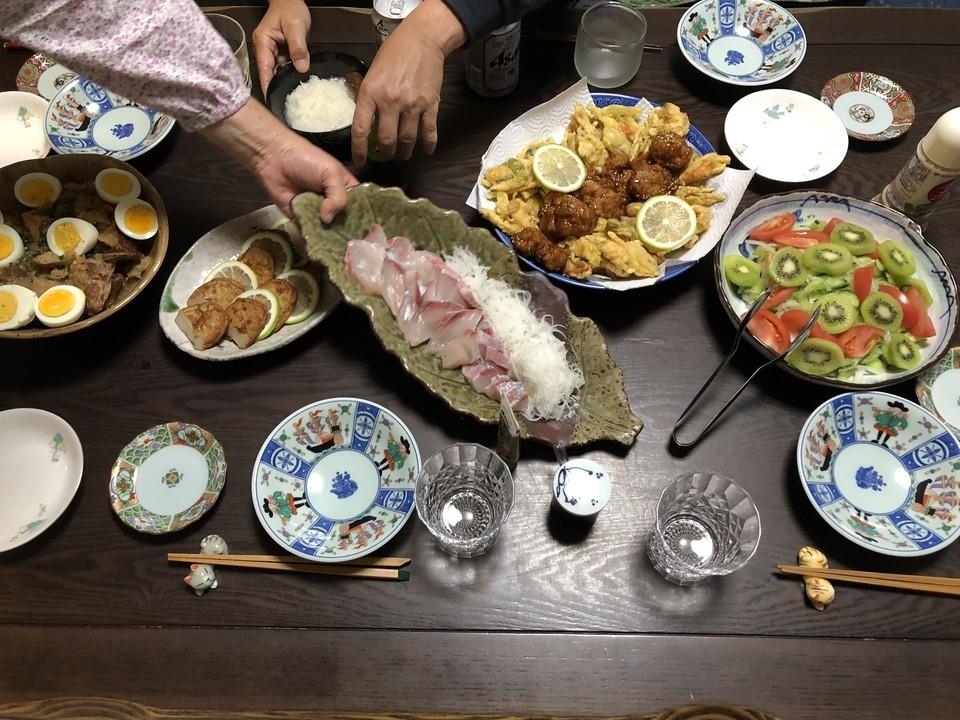 実家の料理