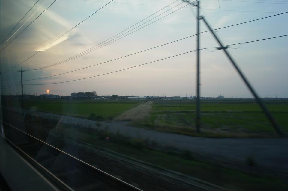 電車車窓から