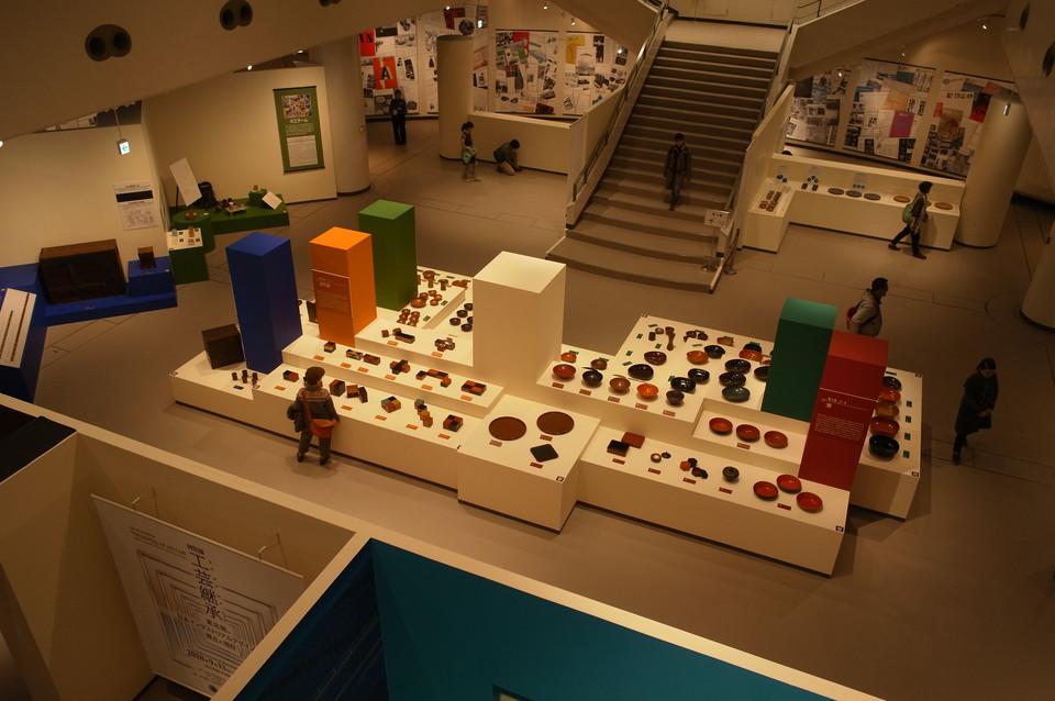 民族学博物館特別展示室の展示風景