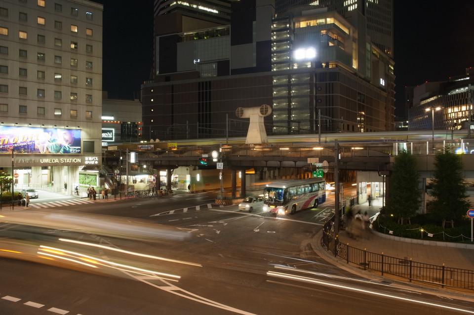 ヨドバシ梅田から見た夜景