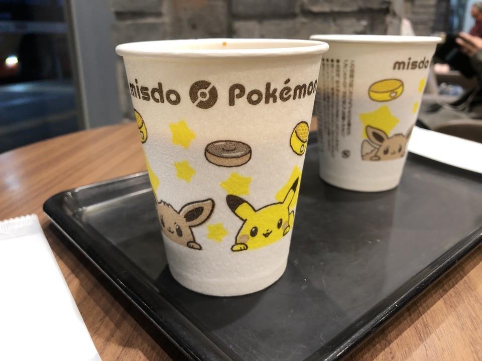ポケモンキャンペーン中のカップ