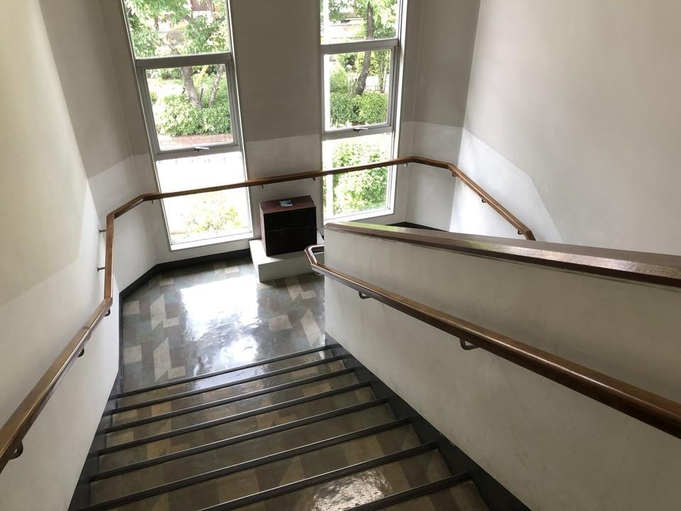 資料館の階段