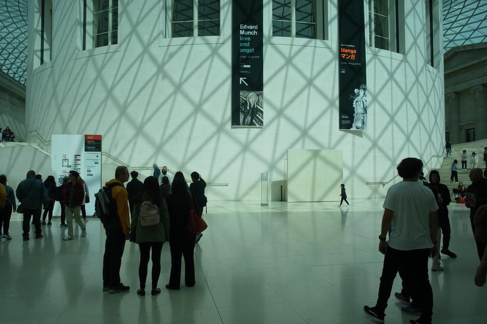 大英博物館エントランス