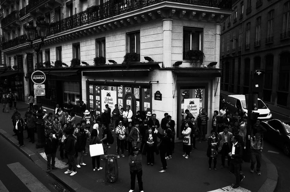 パリの街なみ