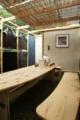 「游舟庵/yushuean」コンポスト化した畜糞を壁材とした茶室/LAMP