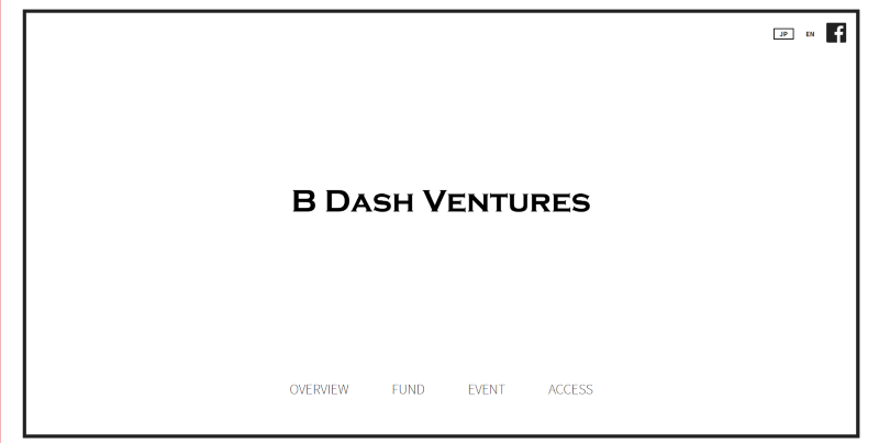 B Dash Ventures株式会社
