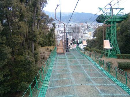 松山城リフト