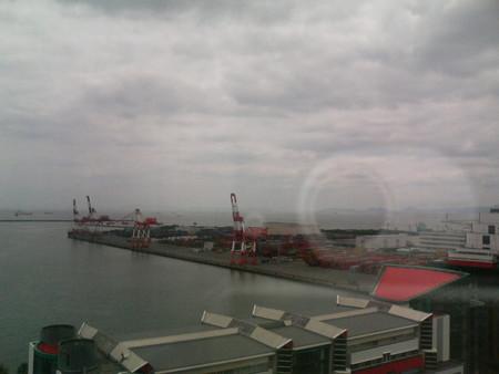 明石海峡大橋と淡路島Fromハイアット