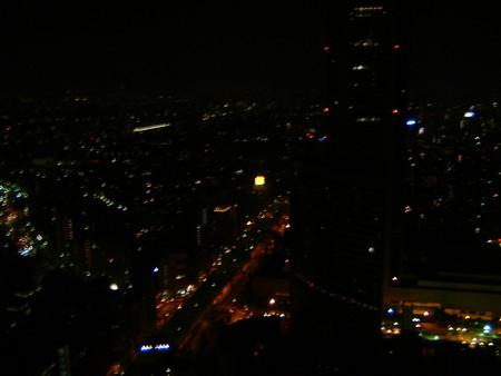 パークハイアット東京からの夜景