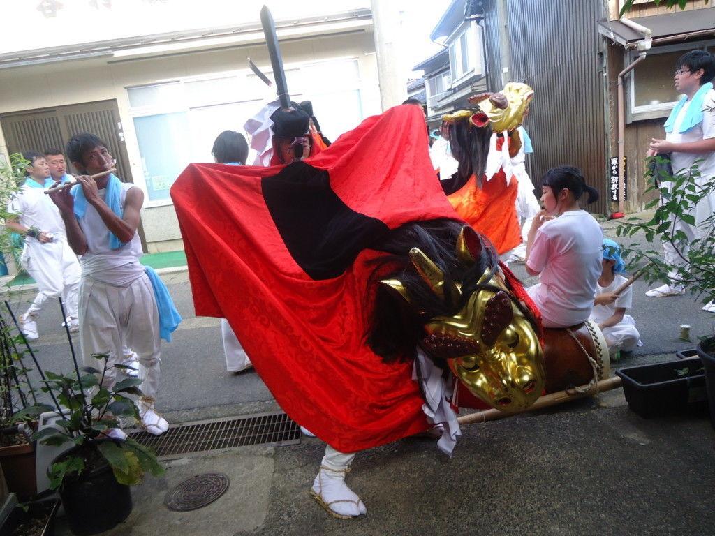 日本遺産 麒麟獅子舞