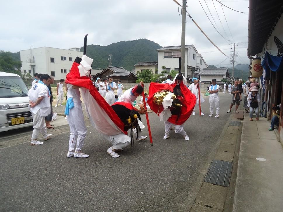 川下祭り麒麟獅子舞