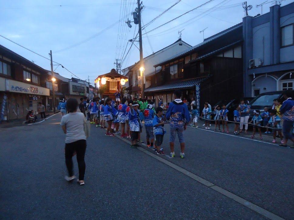 川下祭り京ニ屋台