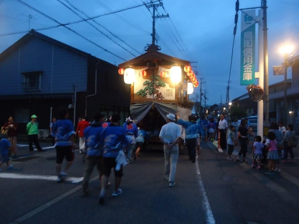 川下祭り京口屋台