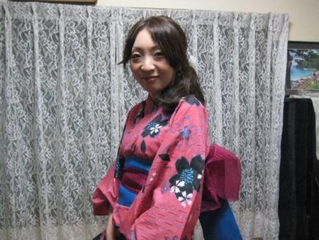 7/25今日の浴衣美人さん