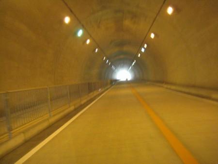 栃谷トンネルが今日開通