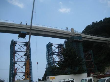 気になる余部鉄橋の遺産的鋼材