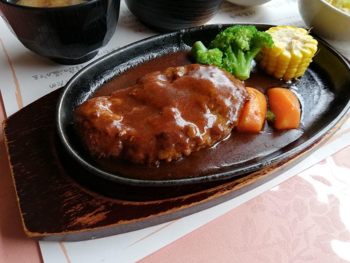 但馬ビーフレストラン楓ハンバーグ定食