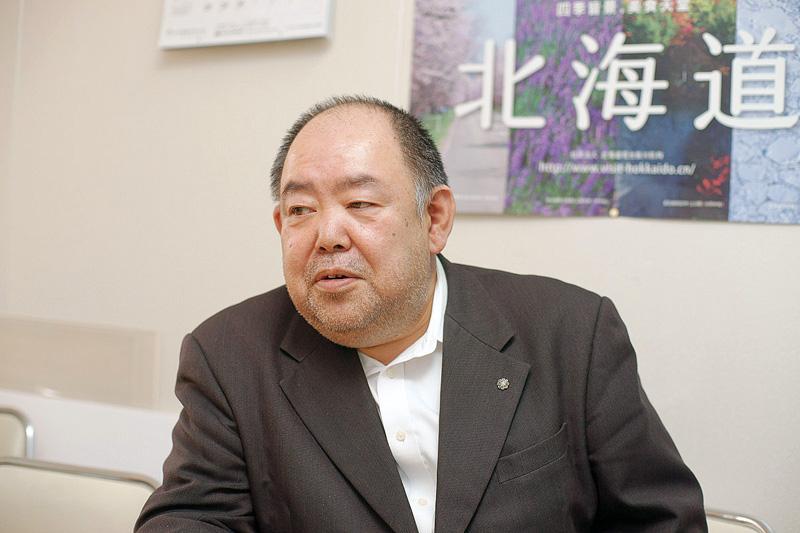 三原広聡さん横顔