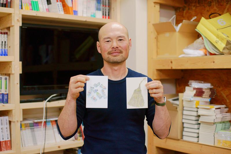 画家 イマイカツミさん