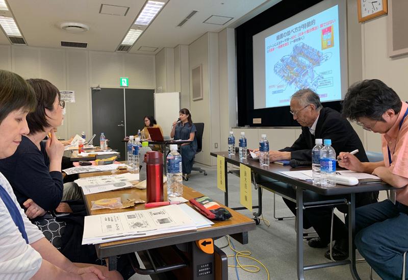 北海道図書館研究会の参加者