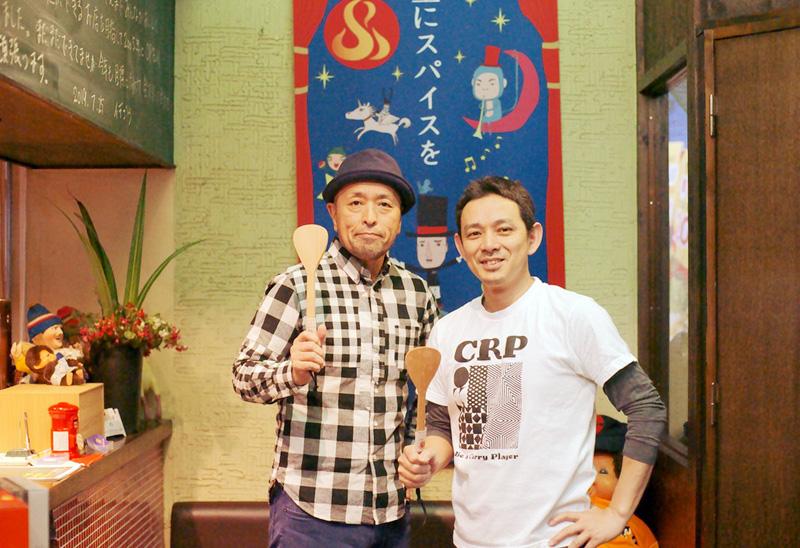 水野仁輔さんとイデゴウさん