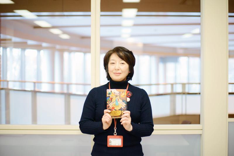 岩見沢市立図書館長 杉原 理美さん
