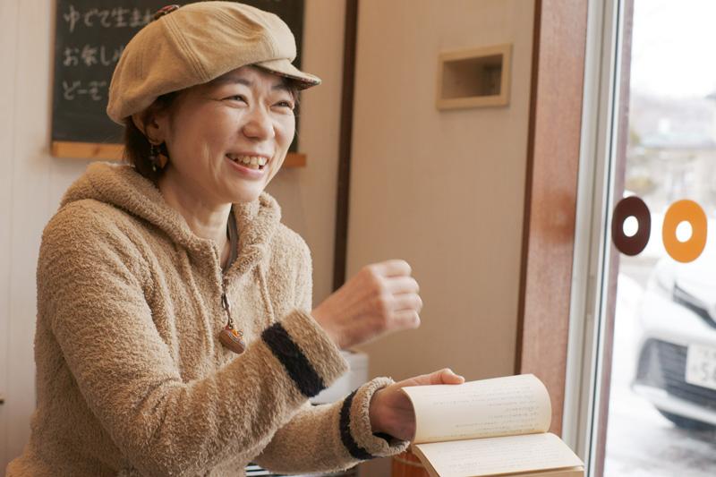 内藤 希さん横顔
