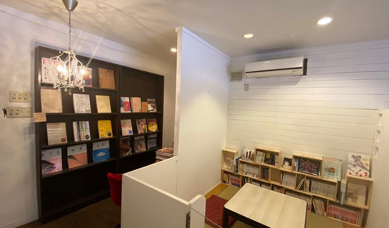 店の奥にある小上がりスペース