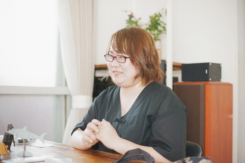 大澤夏美さん横顔