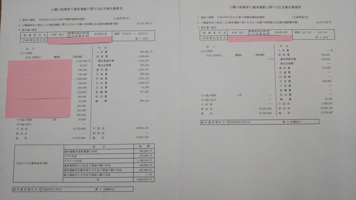 第56回)河井克行氏の方は、総選挙12日間をウグイス嬢が2人で行った ...