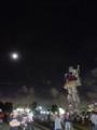 月夜のお台場ガンダム