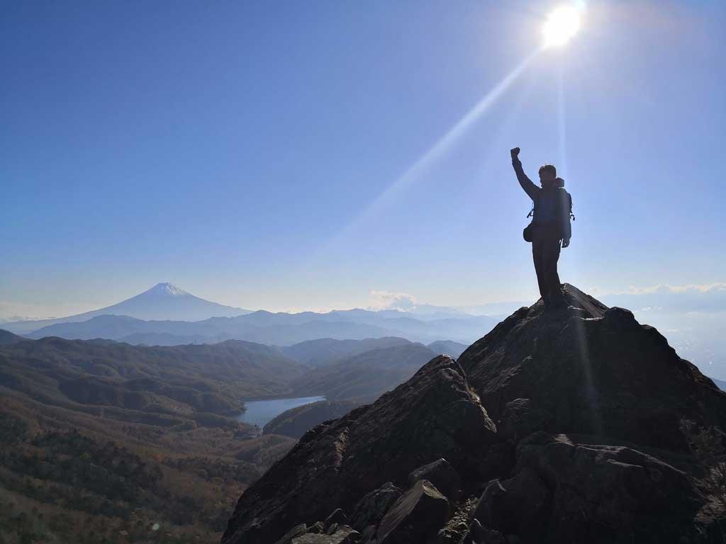 登山部活動レポートです!