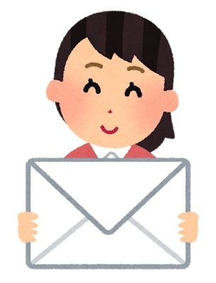 貰って嬉しいメールだと面接も高評価です。