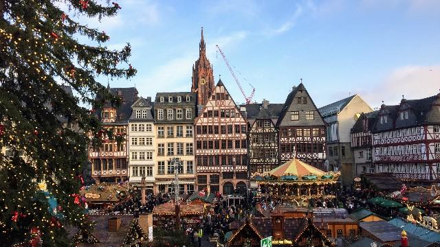 フランクフルトのクリスマスマーケットの写真