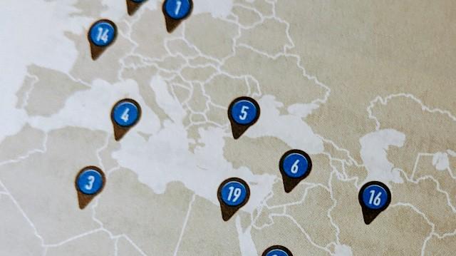 世界地図をチェック