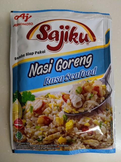 AJINOMOTOのSajikuのNasi Goreng  Rasa Seafoodの写真