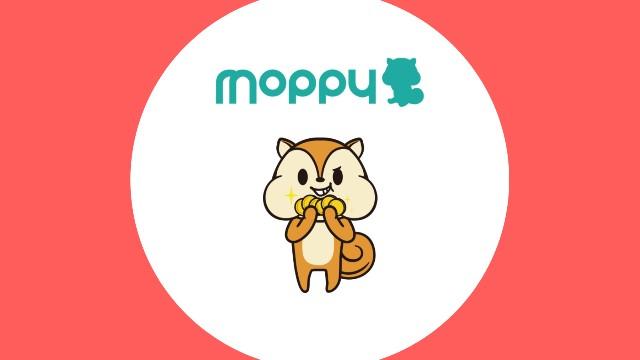 moppyがニヤリとしている画像