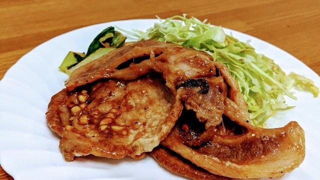 豚肉のピーナッツバター炒めの写真