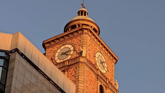 時計台の写真