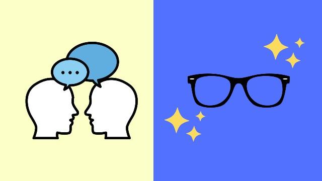 日常英会話コースとビジネスコースの比較イメージ