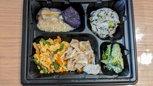 ワタミの宅食(まごころ手鞠)豚肉と卵の炒め和えの日の写真
