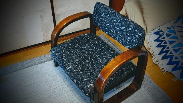 うちの椅子の写真
